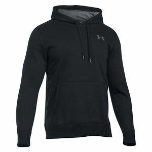 Under Armour Storm Rival Pullover Hoody Mens BlackGry Hoodie Sweater Sportswear