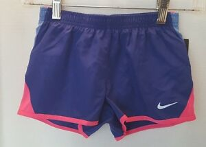 NWT Nike Girl's Dry Fit Stay Cool Shorts - Size 6X - BluePink