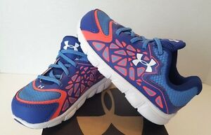 NIB Under Armour Infant Spine Surge Girl's Sneakers - Size 8K - BluePunch