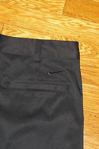 NIKE GOLF SHORTS PERFORMANCE STRETCH FABRIC BLACK DRIFIT EC! 32 TAG 33 MEAS.