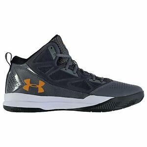 Under Armour Jet Low Basketball Shoes Mens GraphGrn Trainers Sneakers Footwear