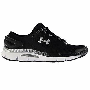 Under Armour SpeedForm Gemini 2 Running Shoes Mens BlackWhite Trainers Sneakers
