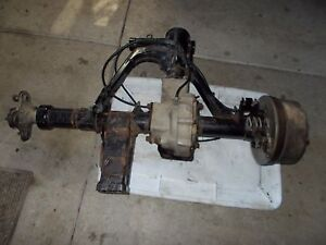 1998 Yamaha Grizzly 600 4X4 Rear End Differential Drive Ring and