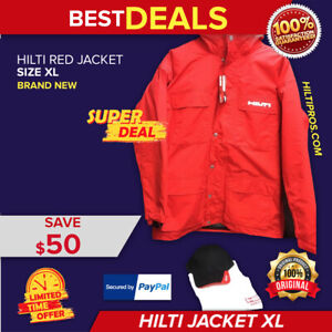 HILTI WINTER JACKET COAT, SIZE XL, NEW, EXCLUSIVE, FREE HAT, T SHIRT, FAST SHIP
