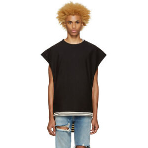 Fear Of God x SSENSE 4th collection Inside-out Muscle Shirt in black size XL