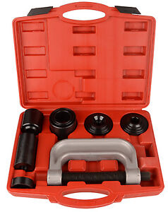 Heavy Duty 4 in 1 Ball Joint Press & U Joint Removal Tool Kit with 4x4 Adapters