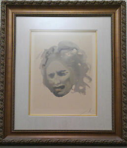Salvador Dali Hand Signed Lithograph The Jewish Rebirth of the Nation of Israel $4999.00