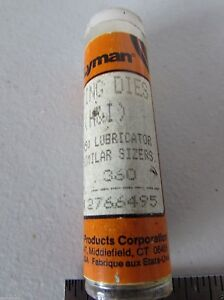 Lyman 360 Bullet Sizing Die for Lyman 4500 Lube Sizer RCBS Lube-A-Matic-2 H
