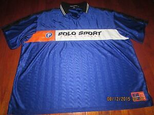 Rare Polo Sport Spell Out Jersey Stadium Pwing 92