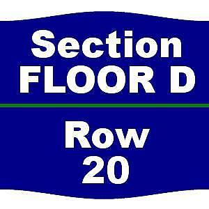 2 Tickets Maroon 5 6418 L.A. Forum