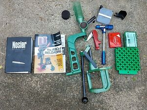 RCBS Reloading Equipment and Press RS5 With Lots of Extras Lee Tools