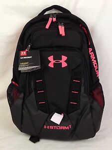 Under Armour UA Recruit Storm 1 Backpack Outdoors Sports Bag 1261825-005 NWT
