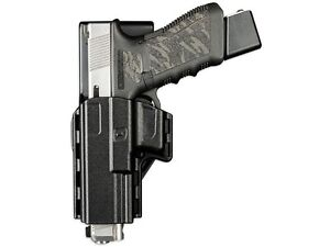 Uncle Mike's Reflex Competition Holster Glock 17 19 22 23 Polymer Black 74219