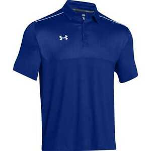 New Under Armour Ultimate Golf Polo Shirt 1247506 Royal Blue Men's 3XL $65