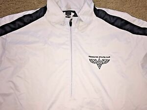 SM Under Armour Golf Pullover Jacket Embroidered WAC Washington Athletic Club