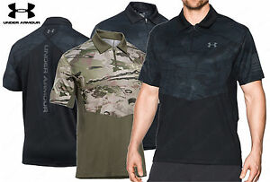 Under Armour Tac Sub Range Jersey - Men's Quarter Zip Tactical Polo Shirt
