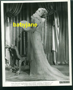FRANCISKA GAAL VINTAGE 8X10 PHOTO 1937 COSTUME STILL DEMILLE'S THE BUCCANEER