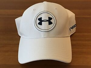 NEW Under Armour Men's Jordan Spieth UA Tour Cap - White - Size: MediumLarge