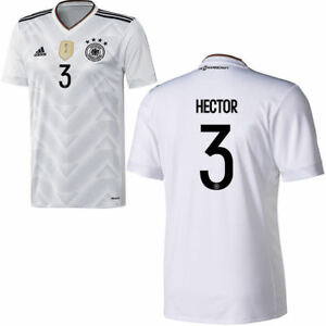 Adidas Womens DFB Germany Football Home Jersey Shirt 2017 2018 Hector 3 Short ..