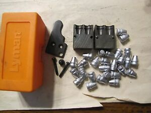 Lyman 452630 Double Cavity HG 68 Bullet Mold Lead Bullet Casting Mould