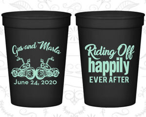 Customized Wedding Cups, Motorcycles, Heart, logo plastic cups (93)