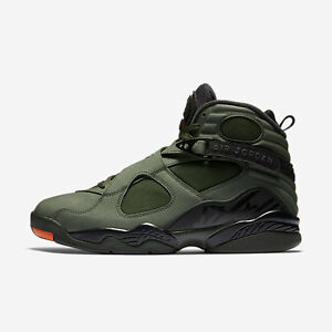 Nike Air Jordan Retro 8 Sequoia - size18 newwithbox. nodust!