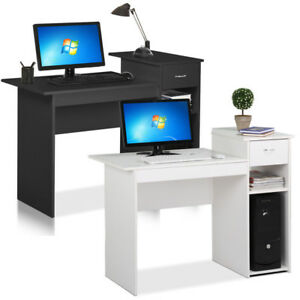 Computer Desk PC Laptop Table wDrawer Home Office Study Workstation Furniture