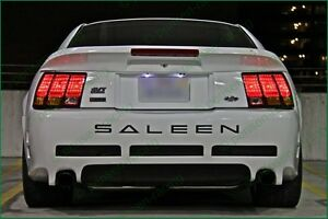 FORD MUSTANG SALEEN 00-04 Black High Cast Vinyl Insert Letters Decals  Any Color