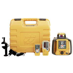 Topcon RL-SV2S Slope Construction Dual Grade Laser Level w Receiver - 313990772