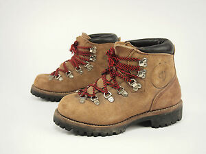 1970s VASQUE Vintage 6235 Gretchen II Lace-to-toe Backpacking Boot Womens 6.5 C