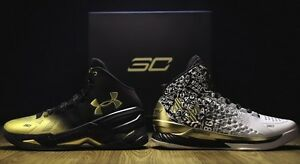Under Armour Curry 2 B2B MVP Championship Back to Back Pack Shoes SZ 8.5
