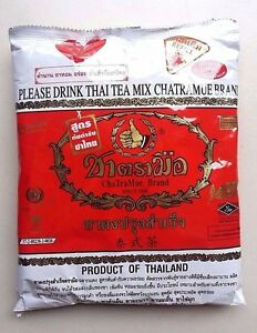 Mix Black Tea Thai CHATRAMUE Number One Brand 400 g 14 oz Worldwide Shipping