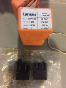 NEW Lyman 452630 DC Mold 45 Acp FN BB 200 Gr. New