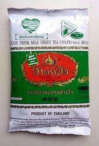 Thai Milk Green Tea CHATRAMUE Number ONE Brand 200 g 7 oz Worldwide Shipping