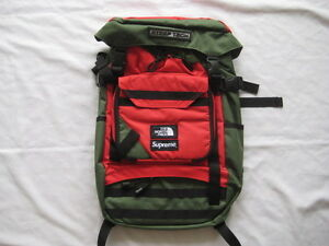 16SS Supreme x The North Face Steep Tech Backpack olive Box Logo