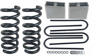 3/4 Drop Kit S10 2wd 4 Cylinder 3