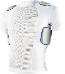Sports Unlimited Youth 5 Pad Protective Football Shirt 2.0 New