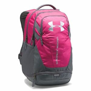 NWT Under Armour Hustle 3.0 Laptop Backpack Tropic Pink