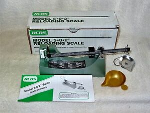 ~LOOK~ RCBS Reloading Scale #502