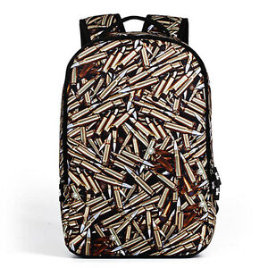 New 3D Three-dimensional Creative Warhead Laptop Bag Bullet Pattern Backpack