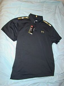 UNDER ARMOUR BLACK GOLD 2016 UNITED STATES USA OLYMPICS RYDER CUP GOLF SHIRT XXL