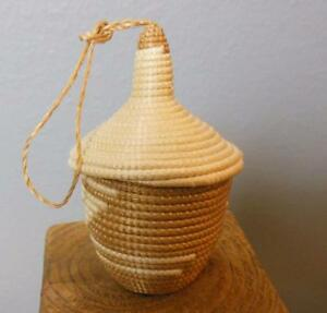 Small Handmade Basket with Lid 4quot; $14.40