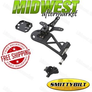 Smittybilt XRC Lite Texture Bolt-On Tire Carrier Fits 2007-2017 Jeep Wrangler