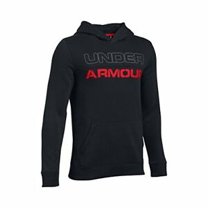 Under Armour Boys' Titan Fleece Hoodie BlackBlack Youth X-Large