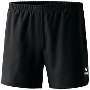 Erima Womens Ladies Sports Training Tennis Shorts with Pockets Black