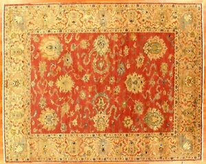 Sultanabad design rug - hand made in Egypt %100 wool 8.3x10.3