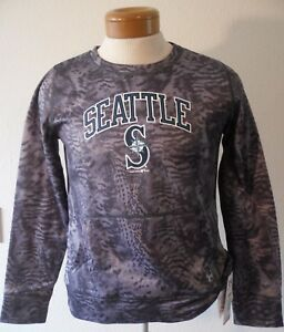 NWT Under Armour Seattle Mariners Youth Boys Performance Sweatshirt XL Grey $55