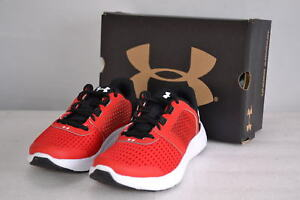 Boy's Under Armour  1285439-601 Micro G Fuel Running Shoes RedBlack   1y