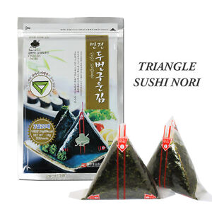 Onigiri Nori Rice Ball Triangle Sushi Seaweed Wrappers Starter Kits with Mold