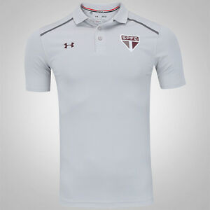 Sao Paulo Polo Soccer Football Jersey Shirt - 2017 Under Armour Brazil
